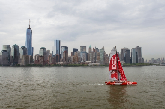 trimaran IDEC star z New Yorku